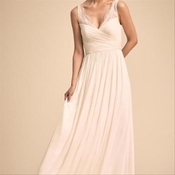 8e9812e27ac2 BHLDN Dresses   Hitherto Fleur Wedding Dress In Ivory   Poshmark